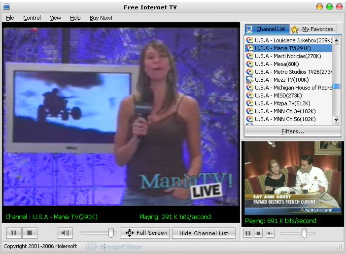 Free Internet Tv Watch Live Tv Broadcasts On The Internet